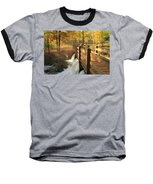 Maramec Bridge And Falls Baseball T-Shirt