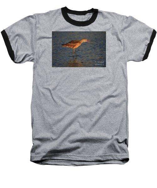 Marbled Godwit Call Baseball T-Shirt
