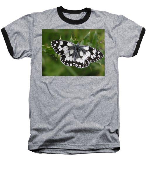 Marbled White Baseball T-Shirt