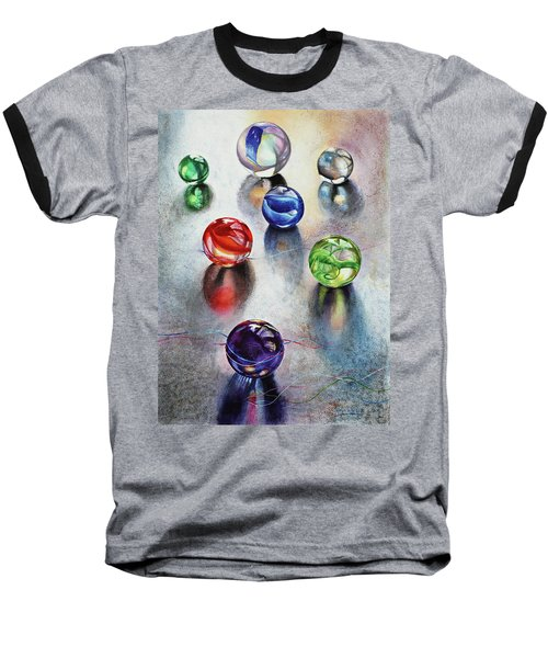 Marbles 1 Baseball T-Shirt