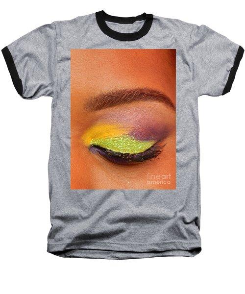 Mardi Gras 2014 Eye See Colors Of Mardi Gras Baseball T-Shirt