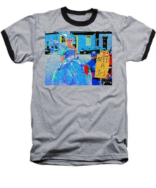 Baseball T-Shirt featuring the photograph Mardi Gras New Orleans by Luana K Perez