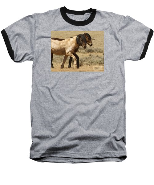 Mares In Step-signed-#9139 Baseball T-Shirt
