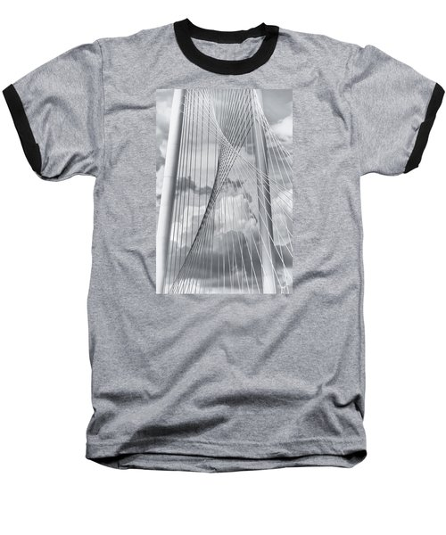 Margaret Hunt Hill Bridge Baseball T-Shirt