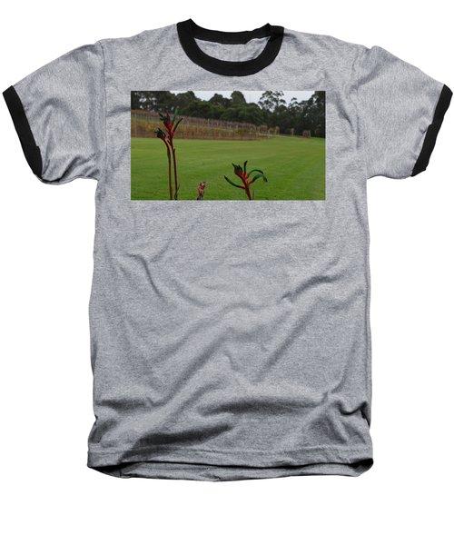 Margaret River Vineyard 1.2 Baseball T-Shirt by Cheryl Miller