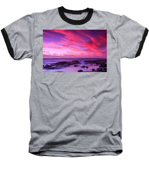 Margaret River Sunset Baseball T-Shirt