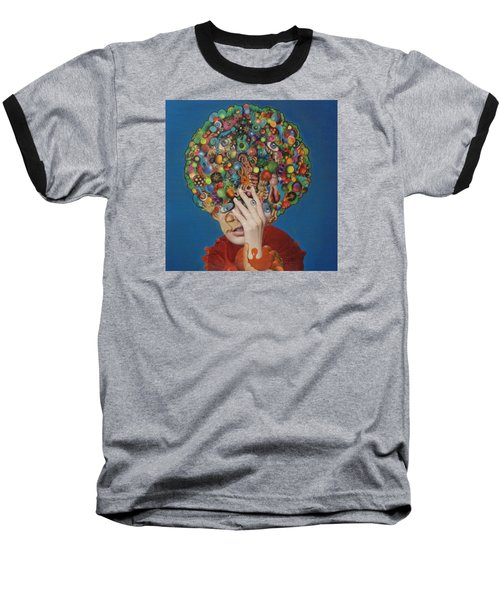 Margarita Martini Baseball T-Shirt by Douglas Fromm