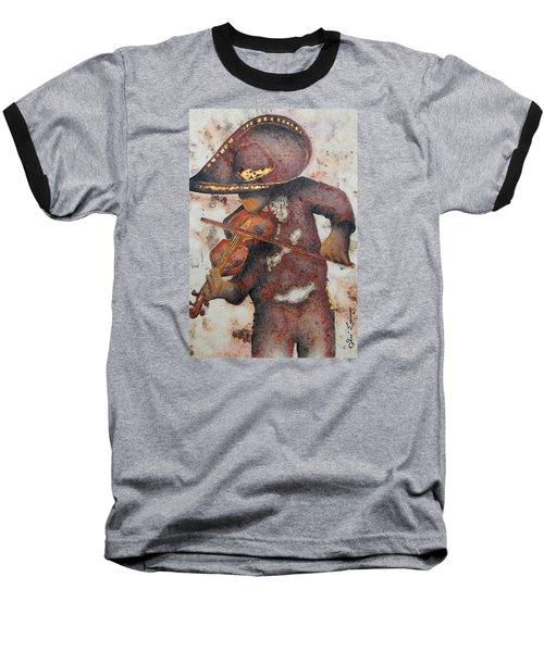 Mariachi I Baseball T-Shirt by J- J- Espinoza