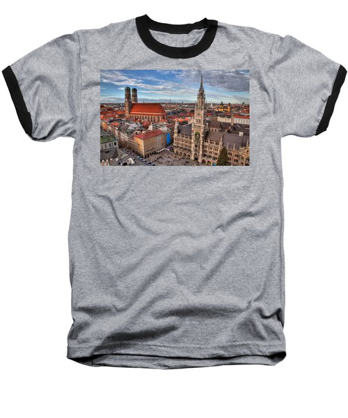 Marienplatz Baseball T-Shirt