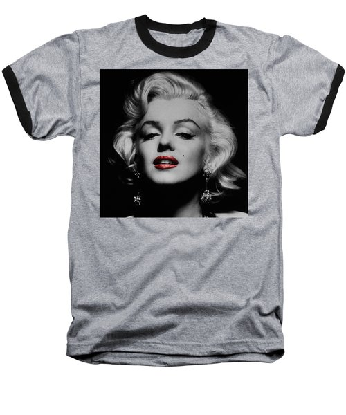 Marilyn Monroe 3 Baseball T-Shirt