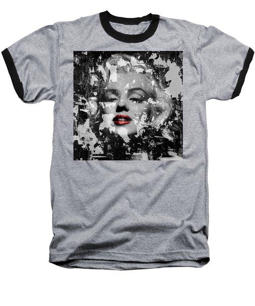 Marilyn Monroe 5 Baseball T-Shirt