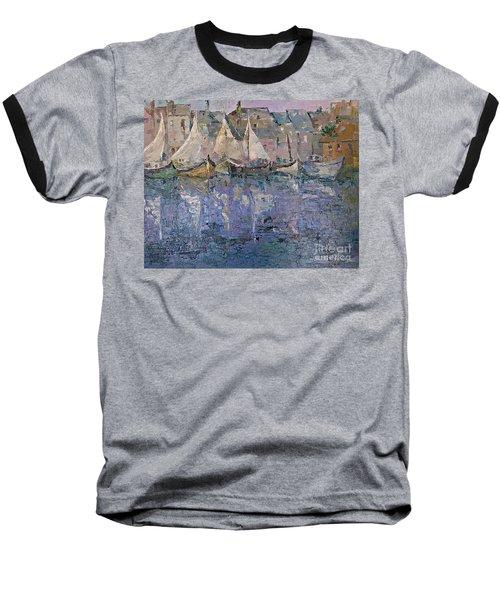 Marina Baseball T-Shirt by AmaS Art