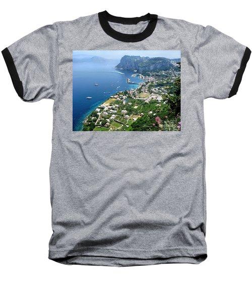 Marina Grande Anacapri Baseball T-Shirt