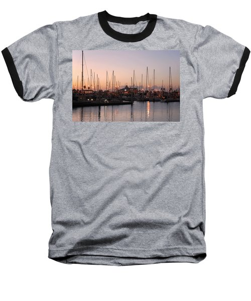 Marina Sunrise 12 Baseball T-Shirt