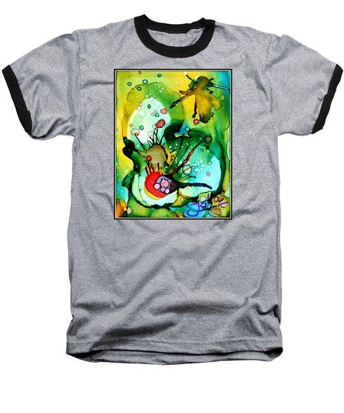 Marine Habitats Baseball T-Shirt