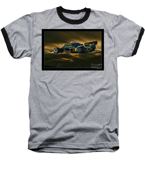 Mario Andretti John Player Special Lotus 79  Baseball T-Shirt