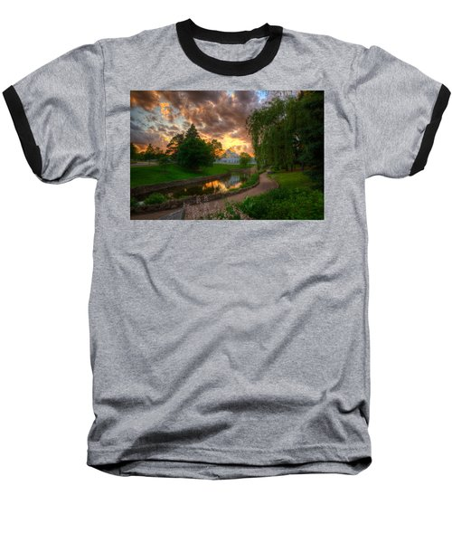 Marjorie Mcneely Conservatory Reflections Baseball T-Shirt