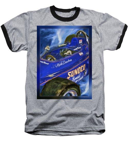 Mark Donohue 1972 Indy 500 Winning Car Baseball T-Shirt