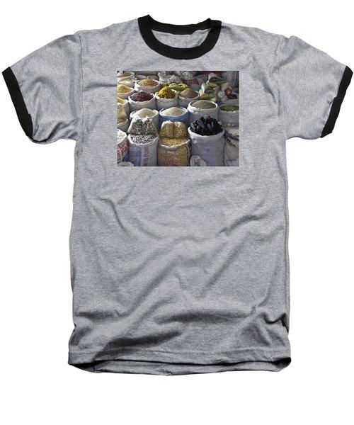 Market - Cusco Peru Baseball T-Shirt