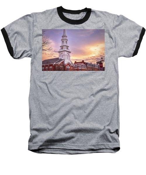 Market Square Rooftops Baseball T-Shirt