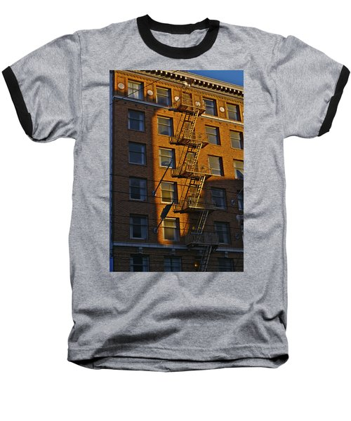 Market Street Area Building 4 Baseball T-Shirt