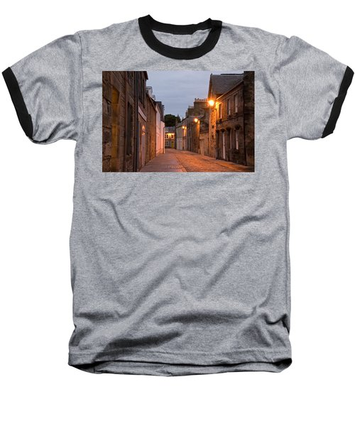 Market Street At Dusk Baseball T-Shirt