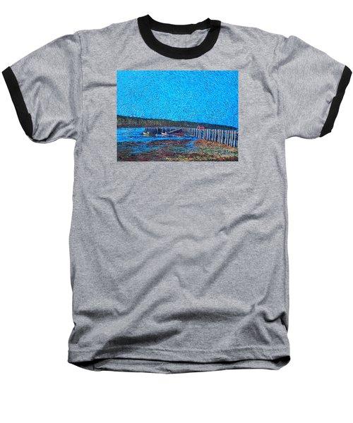 Market Wharf St. Andrews Nb Baseball T-Shirt