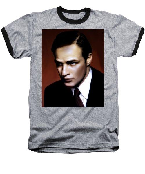 Marlon Brando Tribute Baseball T-Shirt