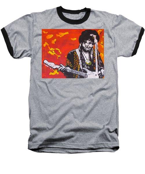 Marmalade Skies Baseball T-Shirt