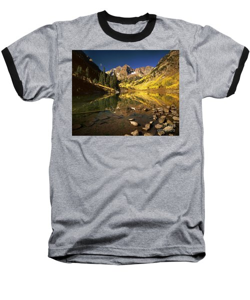Maroon Bells Baseball T-Shirt