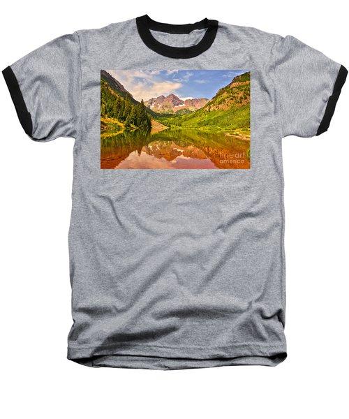 Maroon Bells Summer Baseball T-Shirt