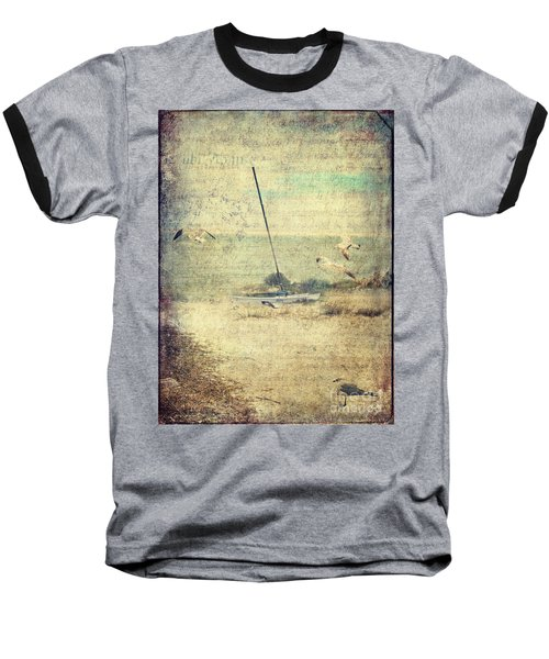 Marooned Baseball T-Shirt