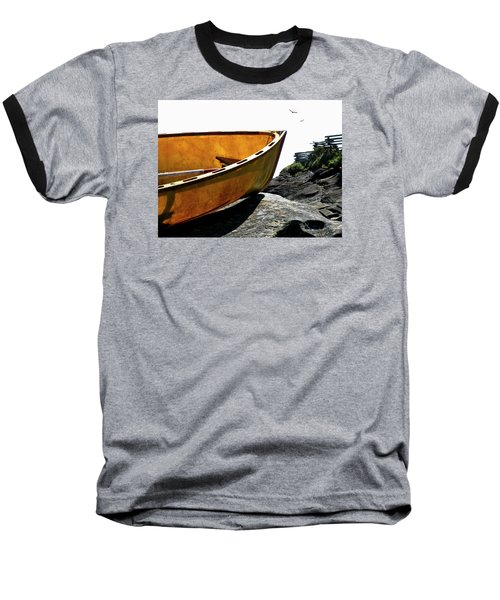 Marooned Baseball T-Shirt