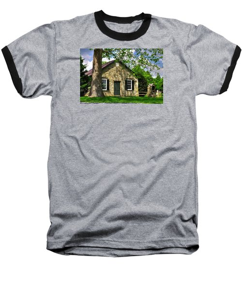 Maryland Country Churches - Fairview Chapel-1a Spring - Established 1847 Near New Market Maryland Baseball T-Shirt