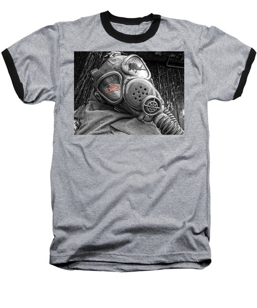 Masked Freedom Baseball T-Shirt