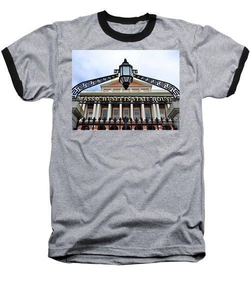 Massachusetts State House Baseball T-Shirt