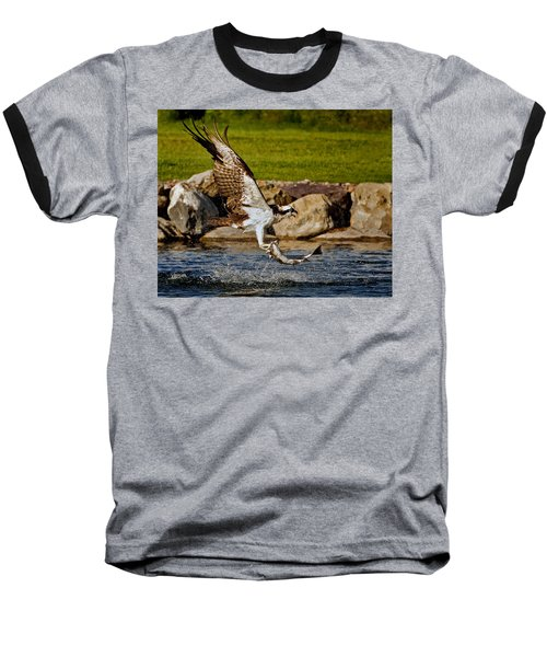 Master Fisherman Baseball T-Shirt