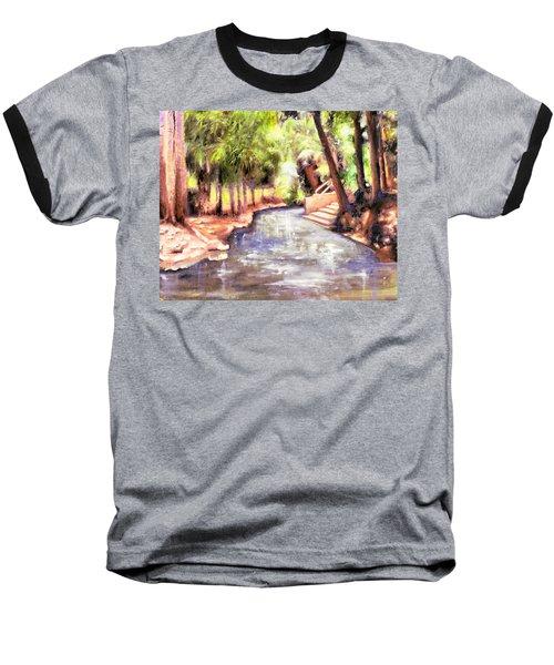 Mataranka Hot Springs Baseball T-Shirt