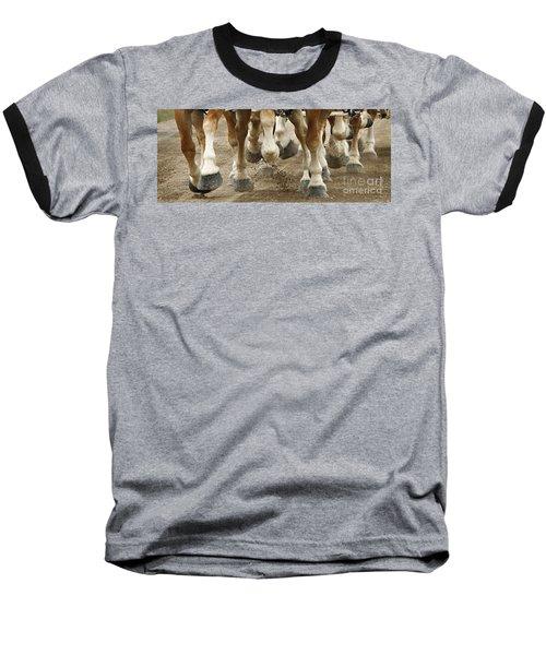 Match 'em Up Baseball T-Shirt by Carol Lynn Coronios