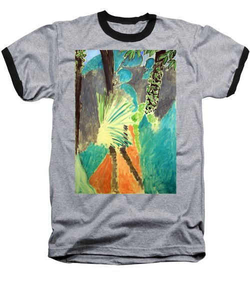 Matisse's Palm Leaf In Tangier Baseball T-Shirt