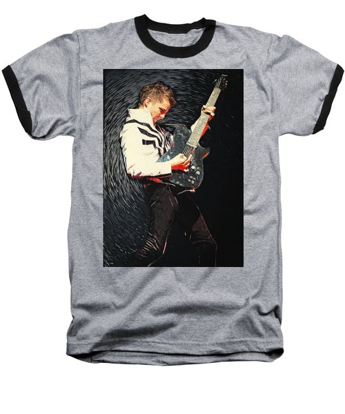 Matthew Bellamy Baseball T-Shirt
