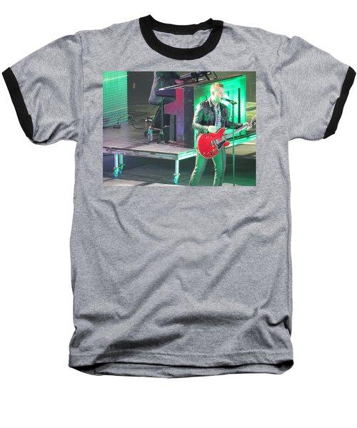 Baseball T-Shirt featuring the photograph Matthew West At Winterjam by Aaron Martens