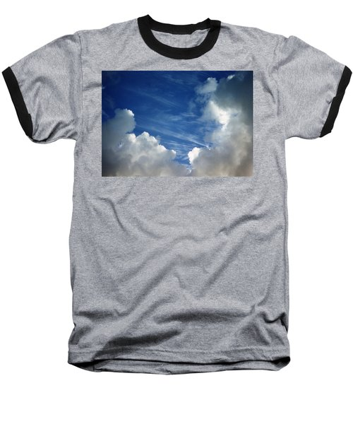 Maui Clouds Baseball T-Shirt by Evelyn Tambour