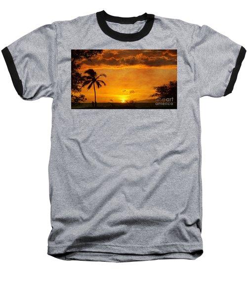 Maui Sunset Dream Baseball T-Shirt