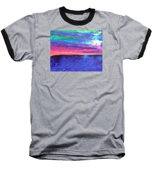 Maui Sunset Baseball T-Shirt by Ralph White