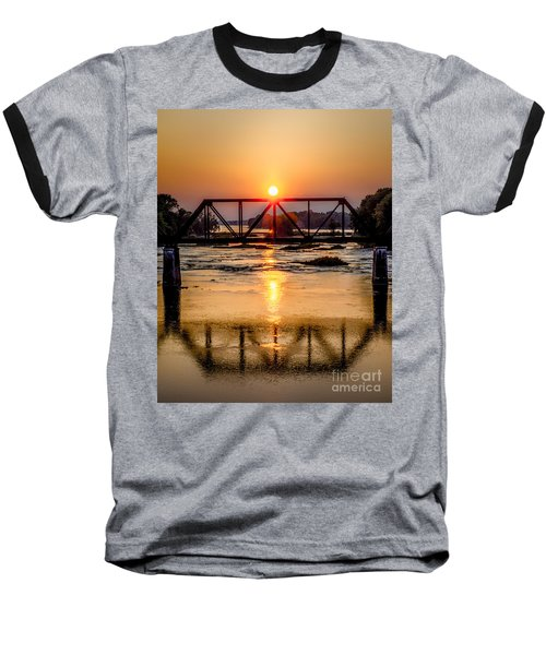 Maumee River At Grand Rapids Ohio Baseball T-Shirt