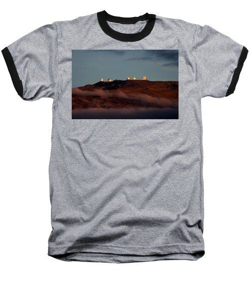 Mauna Kea Baseball T-Shirt by Pamela Walton