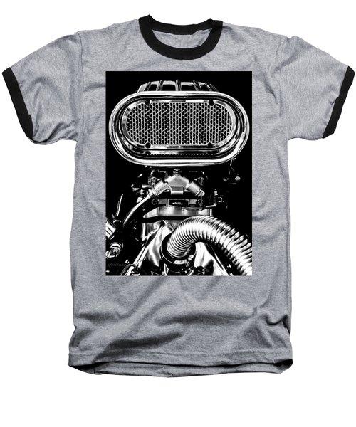 Maximum Rpm Baseball T-Shirt by Steven Milner