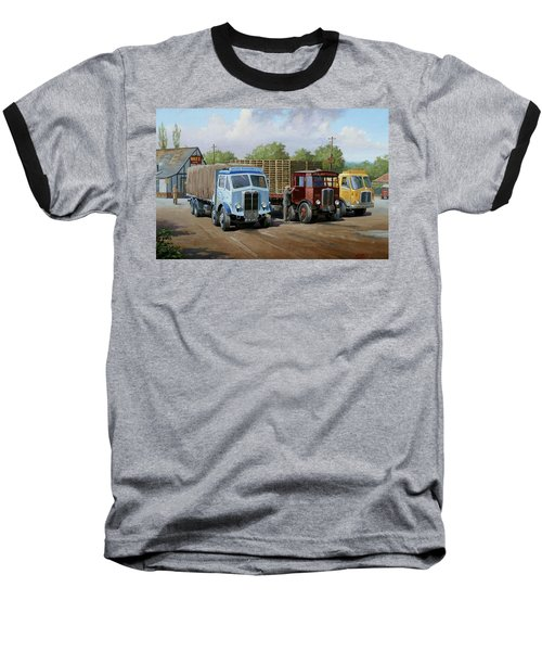Max's Transport Cafe Baseball T-Shirt