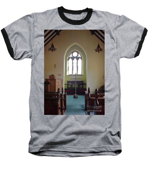 Baseball T-Shirt featuring the photograph May Hill Church by John Williams